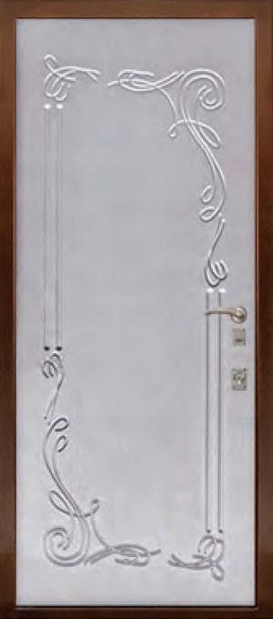 МДФ Фрезерованная ламинированная панель ФЛ145