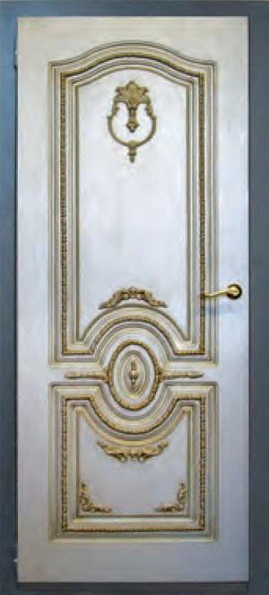 Панели фрезерованные ламинированные с объёмным декором Д1