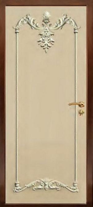 Панели фрезерованные ламинированные с объёмным декором Д10