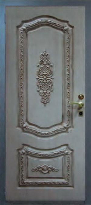 Панели фрезерованные ламинированные с объёмным декором Д4
