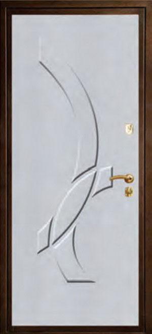 Панели фрезерованные ламинированные с объёмным декором ОЛ4