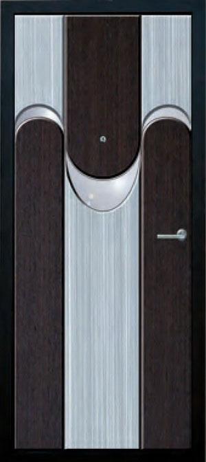 Панели фрезерованные ламинированные с объёмным декором ОМ12