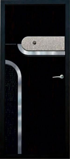 Панели фрезерованные ламинированные с объёмным декором ОМ13