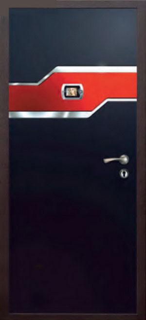 Панели фрезерованные ламинированные с объёмным декором ОМ23