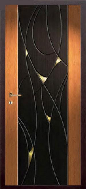 Панели фрезерованные ламинированные с объёмным декором ОМ26