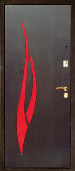 Панели фрезерованные ламинированные с объёмным декором ОМ5