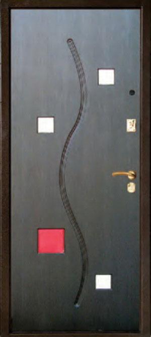 Панели фрезерованные ламинированные с объёмным декором ОМ6