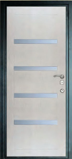 Панели фрезерованные ламинированные с объёмным декором ОМ7