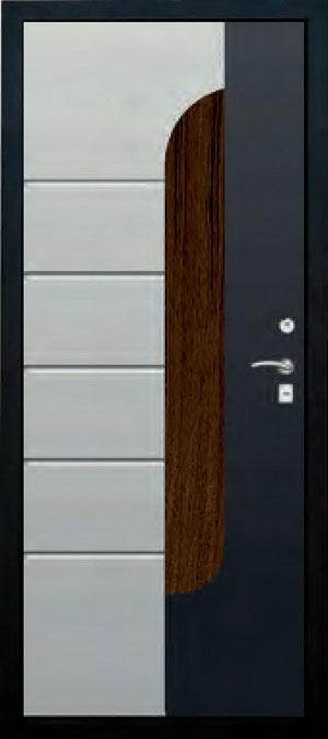 Панели фрезерованные ламинированные с объёмным декором ОМ8