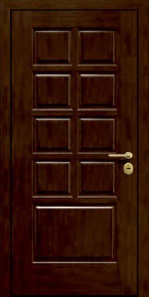 Панели для стальных дверей из массива натурального дерева: сосна и дуб М11