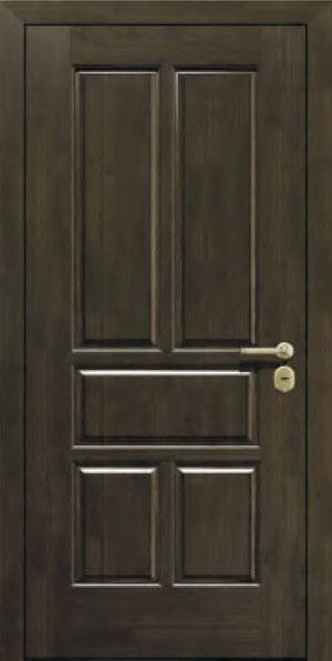 Панели для стальных дверей из массива натурального дерева: сосна и дуб М12