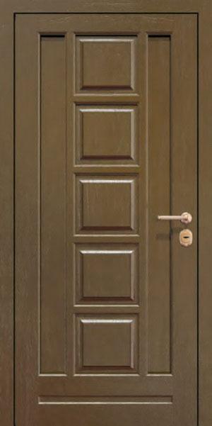 Панели для стальных дверей из массива натурального дерева: сосна и дуб М3
