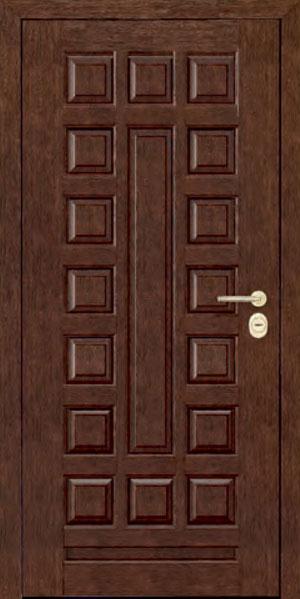 Панели для стальных дверей из массива натурального дерева: сосна и дуб М4