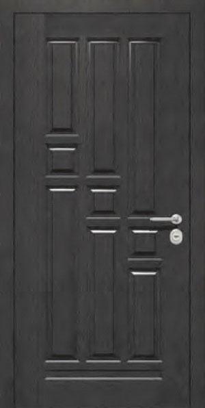 Панели для стальных дверей из массива натурального дерева: сосна и дуб М5