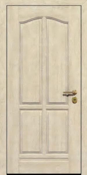 Панели для стальных дверей из массива натурального дерева: сосна и дуб М7