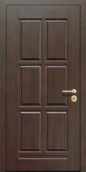 Панели для стальных дверей из массива натурального дерева: сосна и дуб М8