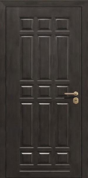 Панели для стальных дверей из массива натурального дерева: сосна и дуб М9