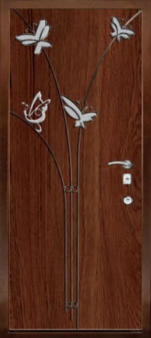 Панели с элементами декора из нержавеющей стали ФЛН158