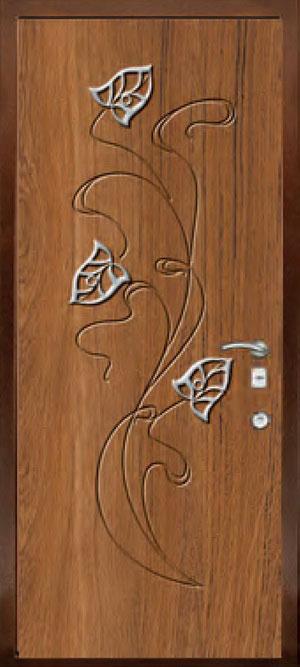 Панели с элементами декора из нержавеющей стали ФЛН168
