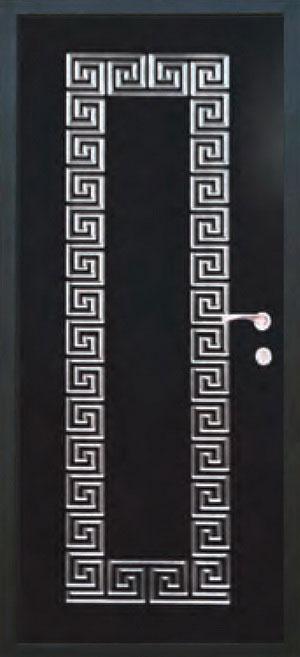 Окрашенные декоративные панели для входных стальных дверей ПК3