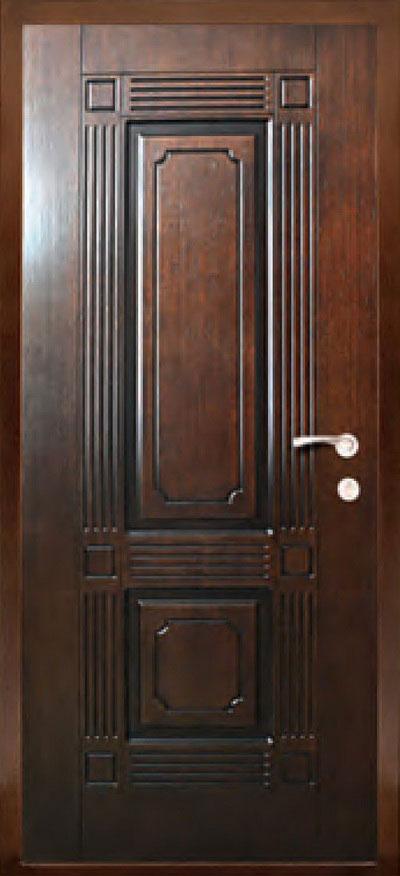 Шпонированные панели МДФ для входных стальных дверей ПШ2