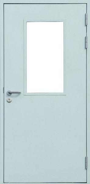 двери двустворчатые стальные от 10000