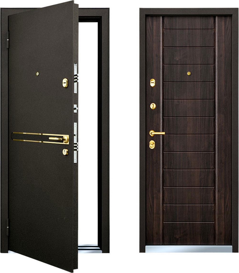 Общая информация о входных металлических дверях
